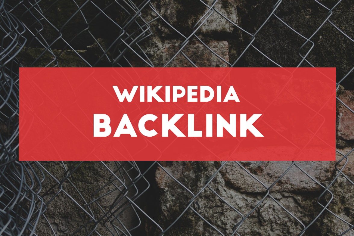 How to earn a wikipedia backlink easily