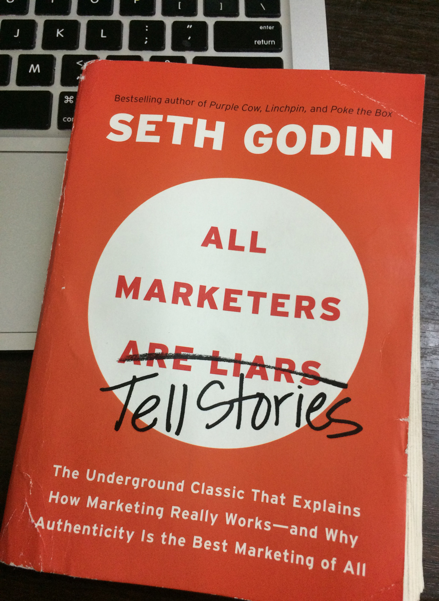 All marketers tell stories by Seth Godin